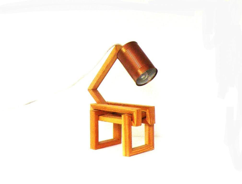 Lampada Barattolo Di Latta : Lampada bwindi made in legno