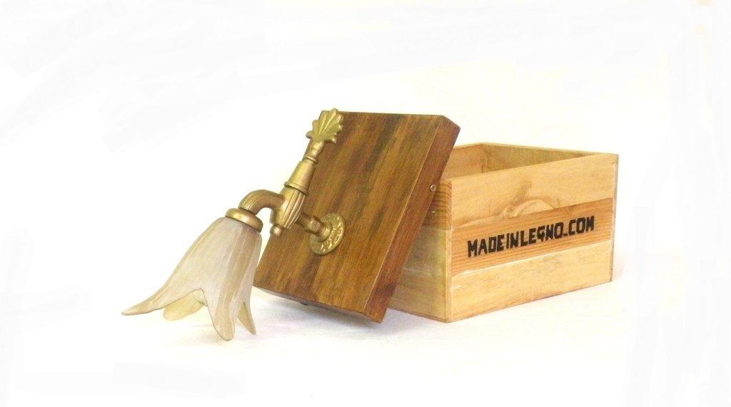 Applique cannella made in legno